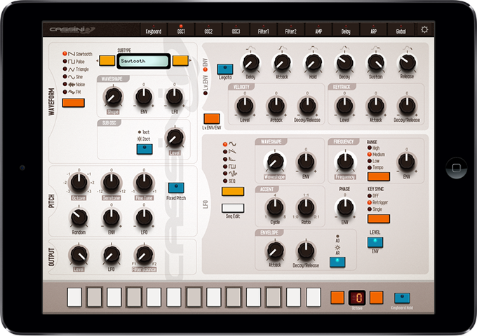 CASSINI SYNTH for iPad